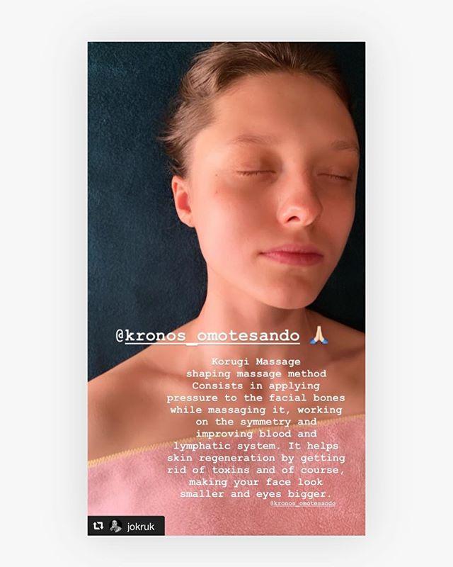 雑誌 や で大活躍されている Jo Kruk様が当店の施術にいらしたご感想を Instagramでご紹介くださいました ありがとうございます。 ・ お顔やお身体のデトックス&リフレッシュに是非いらして下さいませ❣️ 皆様のご来店を心よりお待ちしております ・